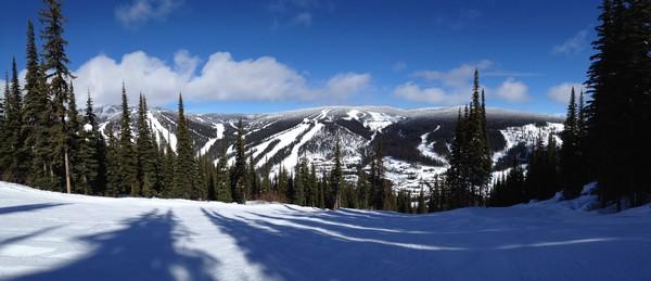 Beautiful day at Sun Peaks Resort